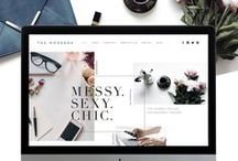 Blogging with Squarespace / A board with useful tips and information for bloggers and creatives on creating a blog or business website with Squarespace.