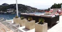 Terrace design project - contemporary seaview villa
