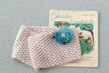 Knit / ハンドメイド雑誌『はんど&はあと』で紹介した、編み物の作品たちです。