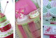 {Flaired Affairs Event} 1st Birthday Party  / {Flaired Affairs Event} Little Girl's Pink & Green 1st Birthday Party