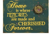 Home Sweet Home ..... / by Beth M