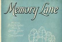 Memory Lane ...... / by Beth M