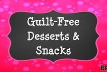 Guilt-Free Desserts & Snacks