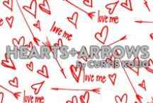 Hearts + Arrows Mood Board / We collaborated with Curtis Kulig to create a limited edition print, Hearts + Arrows  / by MeUndies