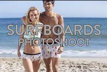 Surfboards Photoshoot / Starring: Brianna Holly @bhollyb and Alejandro Rosaleny @alejandrorosaleny  / by MeUndies