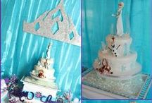 {Flaired Affairs Event} Frozen inspired Ice Princess Birthday Party / Title of Party: Frozen-Inspired 4th Birthday Party Concept & Styling: Christie Skerski of Flaired Affairs www.flairedaffairs.com