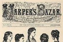 Harper's Bazar / Harper's Bazar è una rivista statunitense di moda fondata nel 1867 da Fletcher Harper dalla società Harper & Brothers, che si rivolge principalmente ad un pubblico femminile.