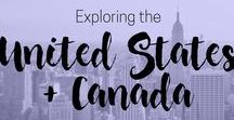 Travel to the United States and Canada / Full of natural beauty, check out Canada's highlights and the buzz of the United States' largest cities.