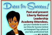 Dress for Success / This is your go-to board for professional dress ideas. Take a look at some of the awesome tips and tricks for how to look your best in any situation. For both men and women! / by Liberty National Life