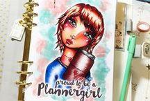 Planner Inspiration / Filofax, Kate Spade, KikkiK, Color Crush Planner, Erin Condren - Planner Goodies and Planner Love and Inspiration