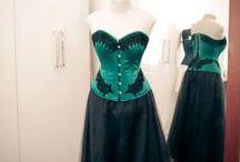 Nosso Ateliê / Esse é o ateliê da La Sorcière corsets, em São Paulo.