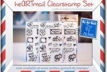 Snailmail & Mailart Inspiration / Ideas & Inspirations for sending Happymail, Mailart, Snailmail ...