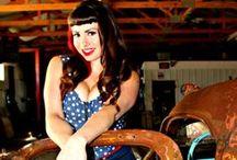 Tony Luna Photography Pin Up shots / With Model Jen.  / by Tony Luna
