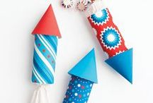 4th of july / patriotic recipes, decor, craft ideas and more!