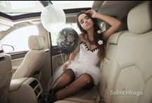 Ensaio Noiva / Fotografa: Seimi Hiraga Photography Modelo: Giovanna Bresciani Make: Paula Braz Hair: Jacqueline Mara Fernandes Figurino: La Sorcière corsets Carros: T2A Clube Balões: Balão Cultura