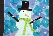 Winter - Classroom / winter classroom