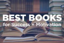 Best Books for Success + Motivation / These books have made a huge impact on the strategies I implement in my business and my life. Highly recommended reads.