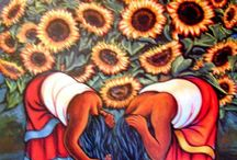 Mexican Inspiration. / All the colour and vibrancy of Mexican Folk art influence...
