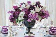 Purple Wedding Theme Ideas / Stylish inspiration & ideas for a purple wedding theme & color palette.