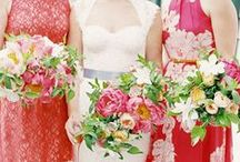 Bright Wedding Colours / Bright wedding colours and inspiration for a vibrant wedding!