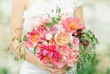 Beautiful Bridal Bouquets / We can't get enough of beautiful bridal bouquets.
