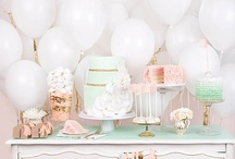 Wedding Dessert Tables & Buffets / A round up of inspiring wedding dessert tables and buffets for all styles of events!