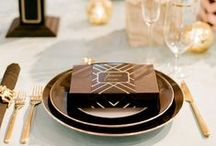 Table Settings / Celebrations / by Kim Boutwell