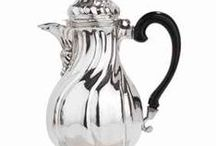 Coffee Pots / Coffeepots both historical and contemporary. Coffee is a major world commodity. Historically, it became more popular in the United States during the American Revolution as tea was part of a protest against England. Check out these great examples.