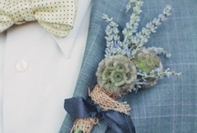 Wedding Boutonnieres & Buttonholes / Our pick of wedding boutonnieres and buttonholes for all styles of weddings.