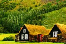 Scandinavian Landscape / From the Nordic lands of Finland, Sweden, Norway, Denmark, Iceland, and the Faroe Islands. / by Naomi Sherman