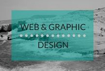 Web & Graphic Design / Your website is your digital front door. It's the first place where most of your potenial clients will come in contact with you. Having a website that engages your leads is important. This board is full of creative website design ideas.