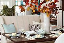 Fall Decorating & Staging