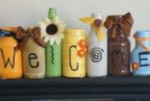 Crafty - Baskets Bottles and Jars... Oh My!