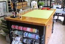 Art/Craft Room / Craft Room Organization