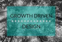 Growth Driven Design / Growth-Driven Design is a smarter way to do web design. Your website is the first thing most of your potential clients will ever see. Not to mention it is the center piece of your entire online marketing strategy. The traditional way we approach website design has a great deal of systemic risk and wasted opportunity. Stop settling and start growing with a website that grows around your users.