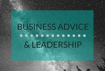 Business Advice & Leadership / I'm always learning from those who have more experience than me. Here you'll find advice for business leaders or anyone looking to make a positive difference in the world.