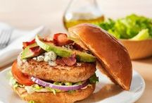Butterball Top 12 Fan Favorite Turkey Burgers / This spring, we're featuring our Top 12 fan favorite turkey burgers. Tune in each week as we reveal the best of the best. / by Butterball