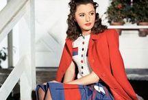Pretty Retro Colour: Red / Pretty Retro loves fashion in the colour red: fun, vibrant and strong.   red, fashion, 1930s, 1940s, 1950s www.prettyretro.co.uk