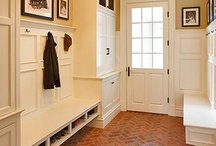HOME - LAUNDRY/MUDROOMS / by Jane P