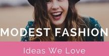 Modest Fashion Ideas