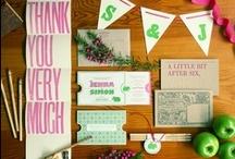 Wedding invitations / Inspiration for designing your wedding invitation