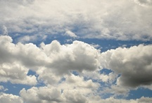 """Clouds / """"Its clouds illusions I recall-   I really don't know clouds at all""""... / by Jerri Oyama"""