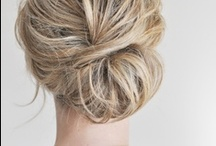 Wedding Hair Inspiration. / Wedding hair ideas. Tutorials and examples of individual and inspiring styles.