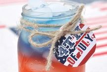 4th of July Inspiration / fun ideas for Independence Day events!