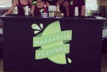 Custom Bar Logos / Our custom bars at events throughout Tampa Bay