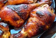POULTRY DISHES / the chicken, the turkey, the duck and more  / by Mimulux Patricia No