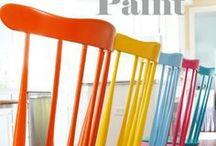 Fun with Spray Paint / by Shalon Churnoski