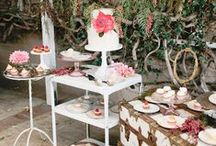 Sweet table / Sweet table, dessert buffet, candy table inspirations for your wedding. Endless wedding inspirations on beautifulday.com.pl.