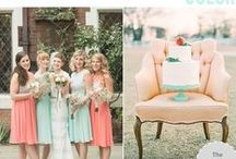 Pastel Love Wedding / Pastel colors wedding theme inspirations. Endless wedding ideas on beautifulday.com.pl.