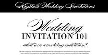 About a Wedding Invitation / Whats in a wedding invitation? - components, wordings, terminology - Krystals Wedding Invitations #weddings #weddinginvitation